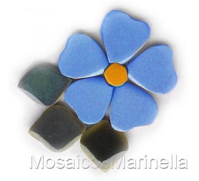 Flor do campo Azul Hortência