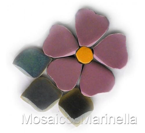Flor do campo Rosa Antigo