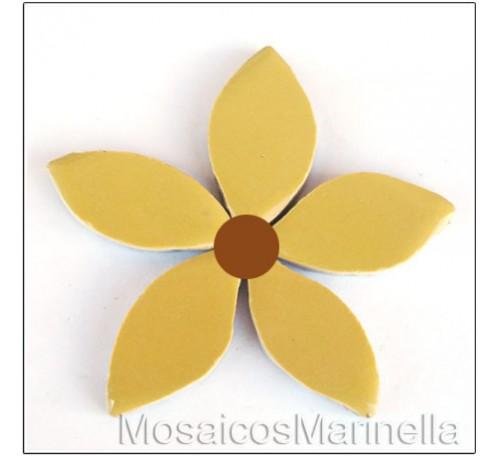 Flor Amarelo Claro
