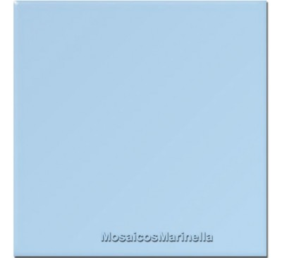 Azulejo Colorido Azul Claro