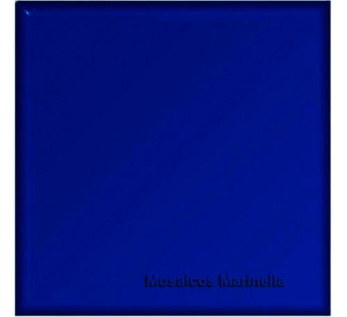 Azulejo Colorido Azul Cobalto