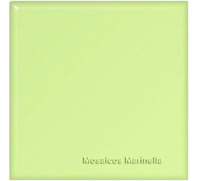 Azulejo colorido maçã verde
