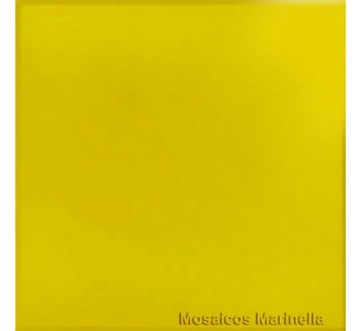 Azulejo Colorido Amarelo Palha