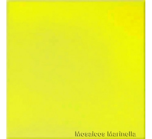 Azulejo Colorido Amarelo Gema