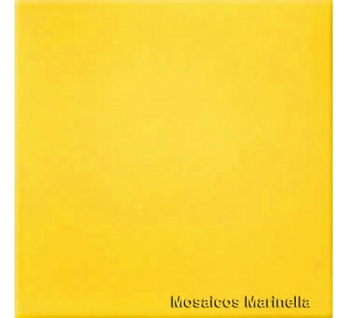 Azulejo Colorido Amarelo Girassol