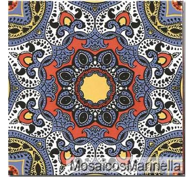 Azulejo Decorado Indiano  157