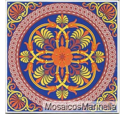 Azulejo Decorado Mandala 167