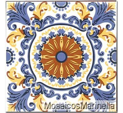 Azulejo Decorado Mandala 66