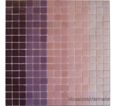 Pastilha de vidro mix  rosado