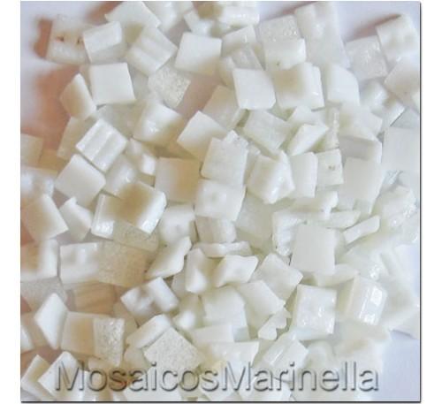 Pastilha de vidro corte manual Branca