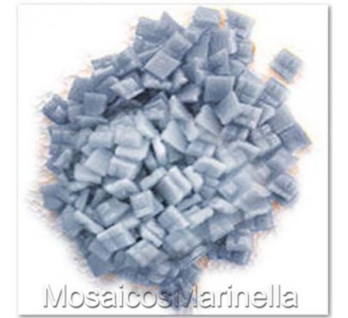 Pastilha de vidro corte manual Cinza