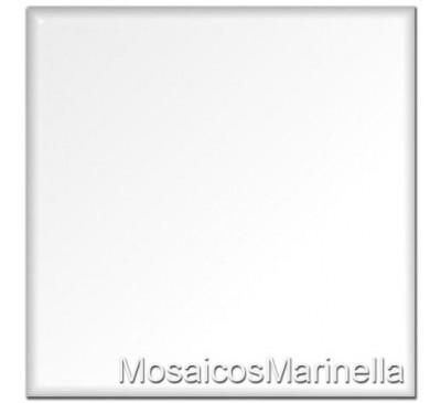 Azulejo colorido Branco