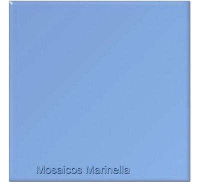 Azulejo colorido Azul piscina