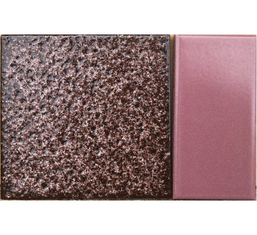 Kit  cerâmica rosê com uva