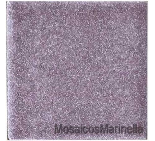 Peça de cerâmica  lilas 7,5x7,5