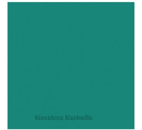 Azulejo colorido verde petroleo